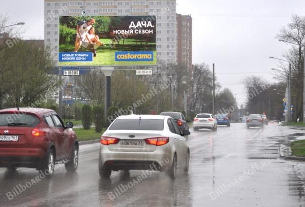 Еременко ул. 85Б-1 (разд. полоса) на Малиновского