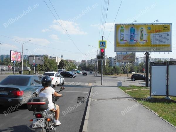 Комарова б-р 20В / Добровольского ул. 9А (позиция 1 по ходу движения)