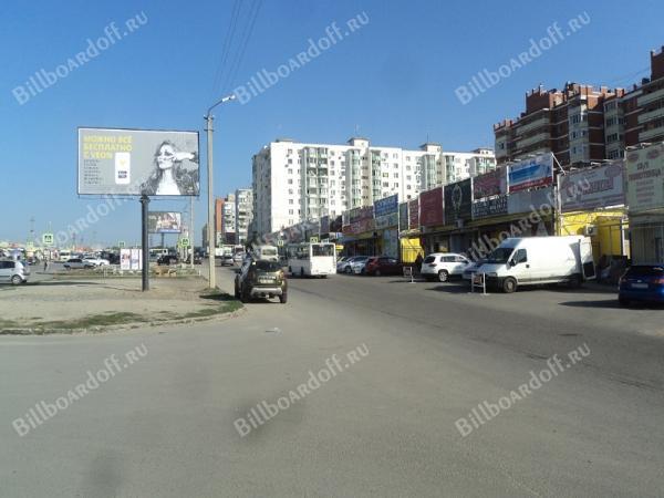 Лелюшенко ул. 17-17А (через дорогу на разделительной полосе)