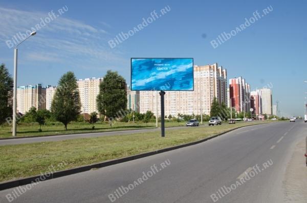 Ерёменко ул. / Обзорная ул. (разд.полоса) на пр.Солженицына
