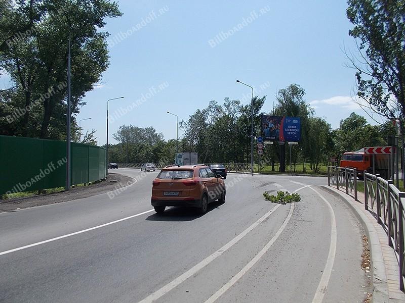 Левобережная-объездная ул. (поз.9 по ходу движения в сторону Ворошиловского моста)