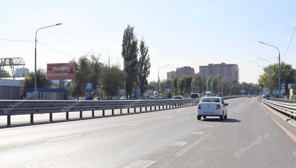 Трасса М-4 1057 км+923 м слева по ходу километража (в черте г. Аксай)